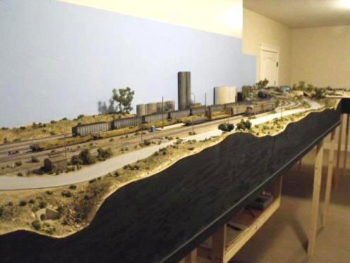 UP Parker Subdivision HO Scale Layout Photo