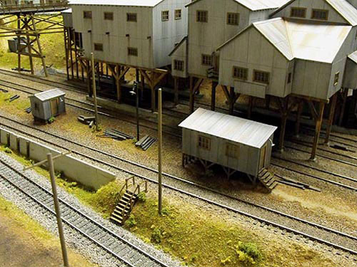 Smith Mine HO Scale Diorama Photo