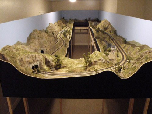 Weber Canyon HO Scale Layout Layout Photo