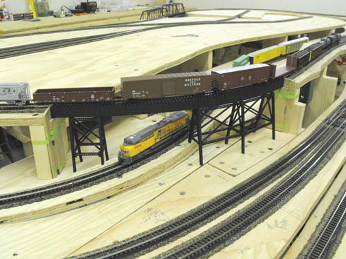 Wing Haven West N Scale Layout Photo