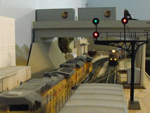 Salt Lake Corridor HO Scale Layout Photo